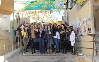 مشروع تحسين وضع اللاجئين الفلسطينيين في لبنان، بالشراكة مع وحدة الأمن الإنساني في السفارة السويسرية في بيروت