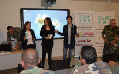 """The """"Youth Voices"""" project, in partnership with ActionAid Arab Regional Initiative"""