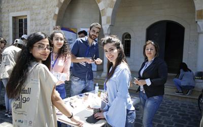 مشروع الشباب مواطنو اليوم، بالشراكة مع منظمة اليونيسف